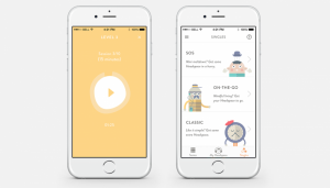 headspace mobile app design ideas  health and fitness
